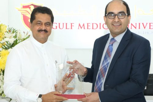 Gulf Medical University Welcomes Consul General of India