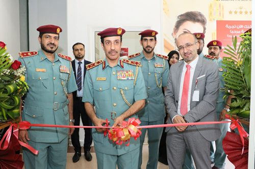 Police Aid Post Opens at Thumbay Hospital, Ajman