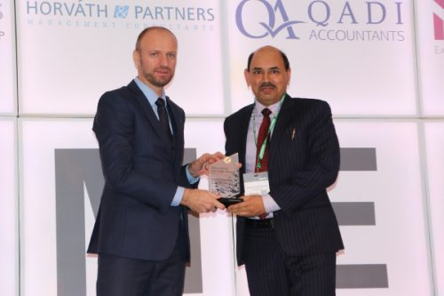 Thumbay Group's Finance Director Named 'MENA CFO of the Year' at CFO Achievement Awards 2017