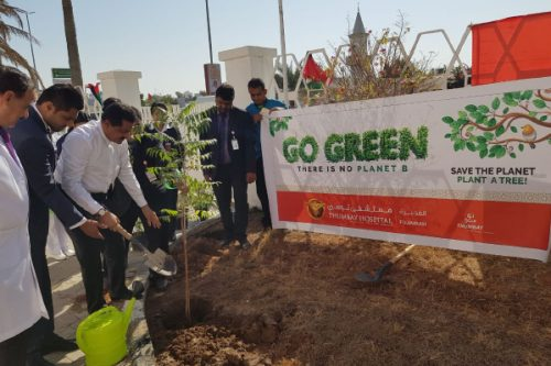 Thumbay Hospital Fujairah Launches 'Go Green' Initiative