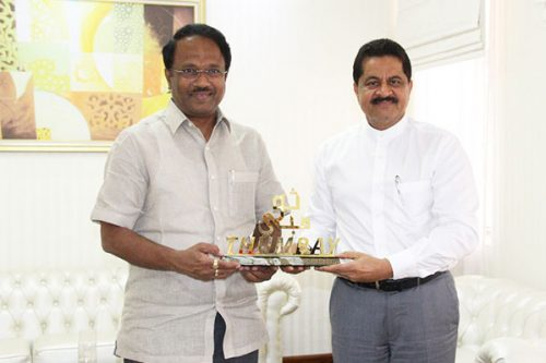 Telangana Minister of Health Visits Gulf Medical University