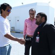 Famous Indian actor Mr Sonu Sood at Thumbay Hospital Dubai