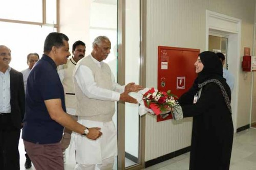Speaker of Karnataka Legislative Assembly Visits Gulf Medical University