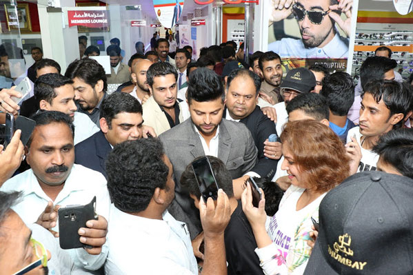 mr. Suresh raina Visit Thumbay Hospita, Dubai