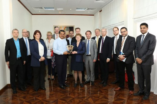 High-Level German Delegation Visits Gulf Medical University