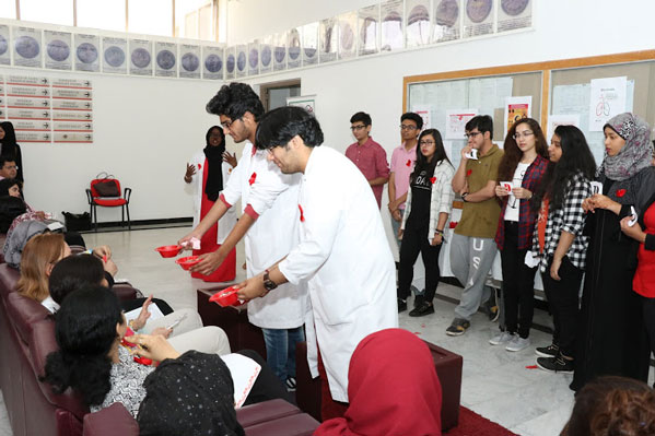 Gulf Medical University Marks World Tuberculosis Day