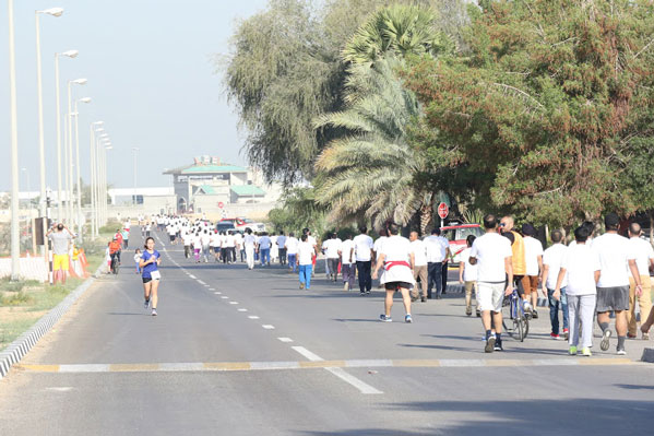 Annual Fun Run 2016 in Ajman