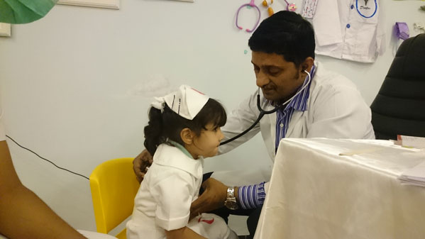 Pediatric Health Screening Camp