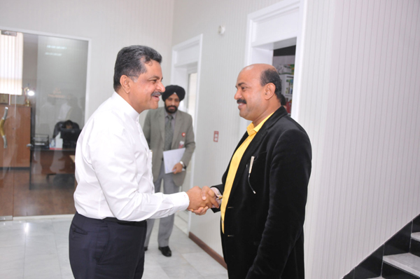 MR. MOHIUDDIN BAVA MLA FROM SURATHKAL, MANGALORE VISITS GULF MEDICAL UNIVERSITY AJMAN