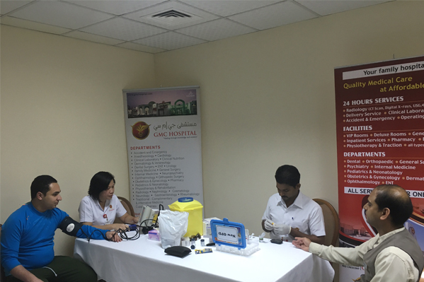 Free Health Checkup Camp at Concord Hotel