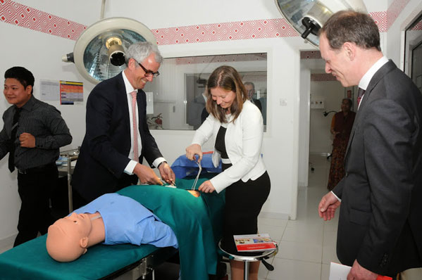 Dutch Healthcare Officials