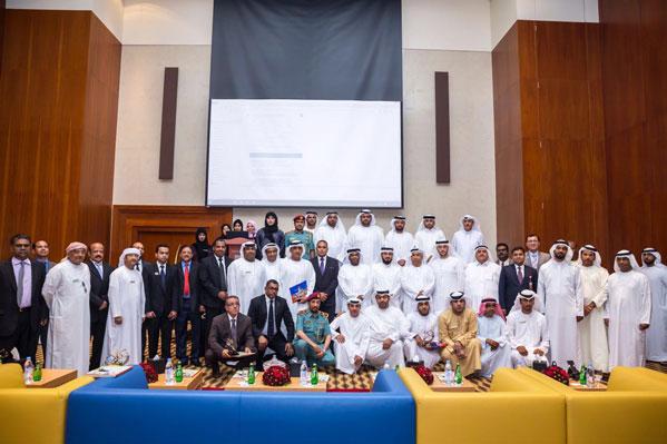 Felicitation of  Thumbay Hospital Fujairah