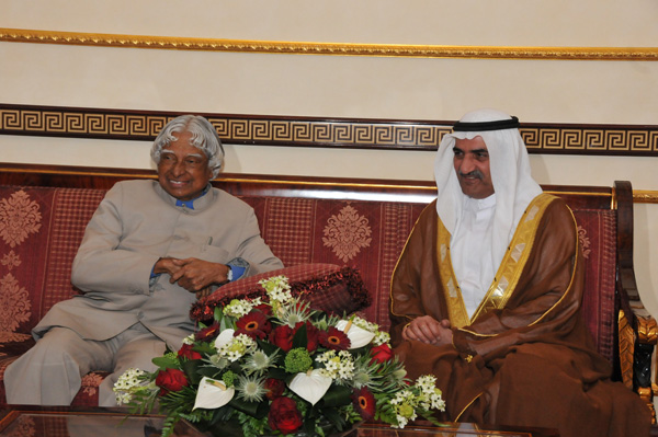 FUJAIRAH CHAMBER OF COMMERCE & INDUSTRY AND THUMBAY GROUP UAE JOINTLY HOSTED A SPECIAL LECTURE BY HE DR. APJ ABDUL KALAM