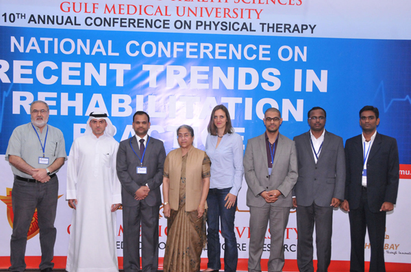 NATIONAL CONFERENCE ON REHABILITATION PRACTICE HELD AT GULF MEDICAL UNIVERSITY