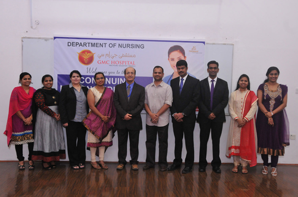 SEMINAR ON MANAGEMENT OF LOW BACK PAIN HELD AT GULF MEDICAL UNIVERSITY