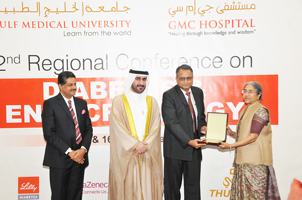 2nd Regional Conference on Diabetes & Endocrinology held at Gulf Medical University