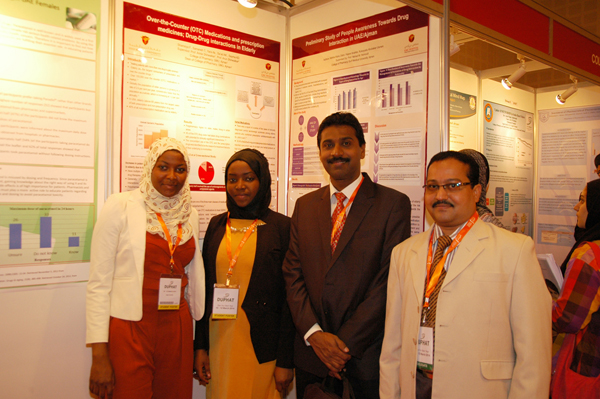 College of Pharmacy, Gulf Medical University bags awards at