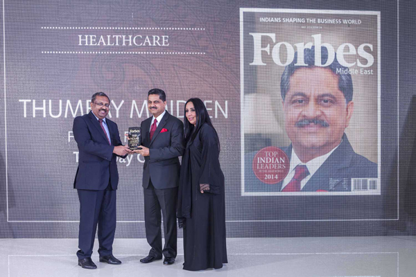 THUMBAY MOIDEEN FEATURED IN TOP INDIAN LEADERS IN THE ARAB WORLD