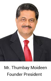 Mr. Thumbay Moideen, Founder President