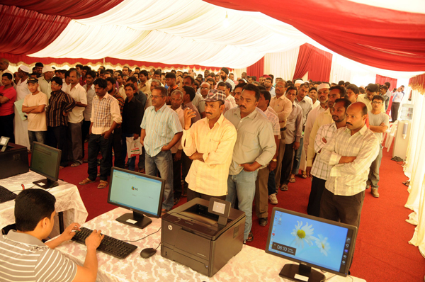 MORE THAN 6000 PEOPLE TAKE BENEFIT OF FREE MEGA HEALTH CAMP ORGANIZED BY GMC HOSPITALS