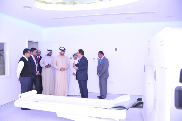HIS HIGHNESS SHEIKH RASHID BIN HUMAID AL NUAIMI VISITS GMC HOSPITAL AJMAN TO OVERSEE ADDITION OF NEW FACILITIES