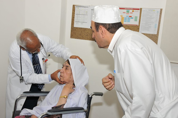 More than 5000 visitors benefit from Free Mega Health Camp, 2013 organized by GMC Hospitals in Ajman, Sharjah and Fujairah.