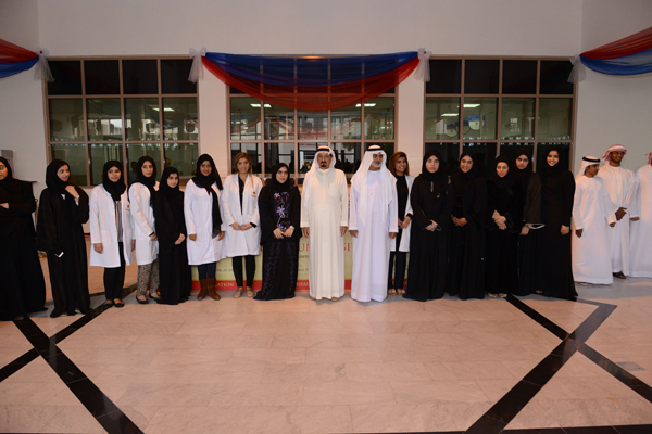 His Highness Sheikh Humaid Bin Rashid Al Nuaimi, Ruler of Ajman inaugurates Advanced Medical Research Facility and Advanced Simulation Center established at Gulf Medical University