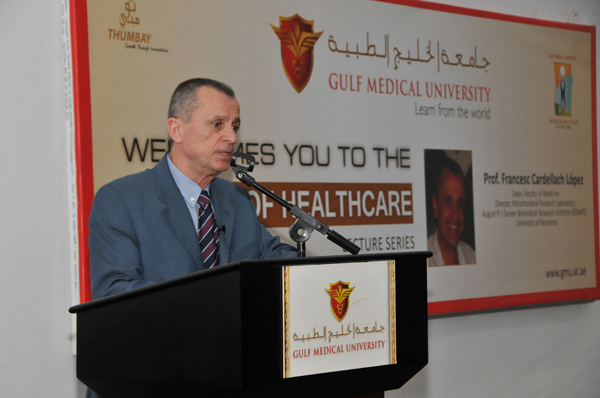 Prof. Francesc Cardellach López delivers Heroes of Healthcare Lecture at GMU