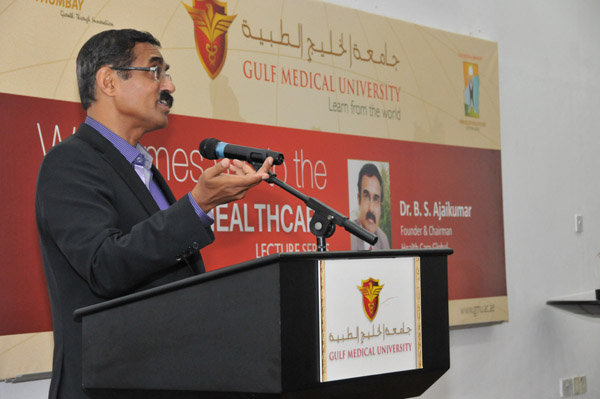 Dr. B.S. Ajai Kumar delivers Heroes of Healthcare Lecture at GMU