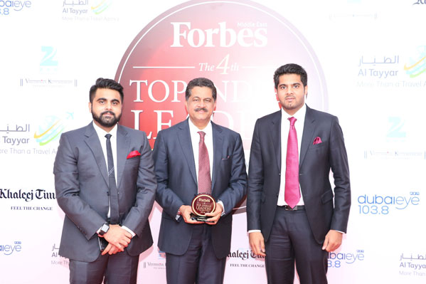 Featured by Forbes in 'Top Indian Leaders