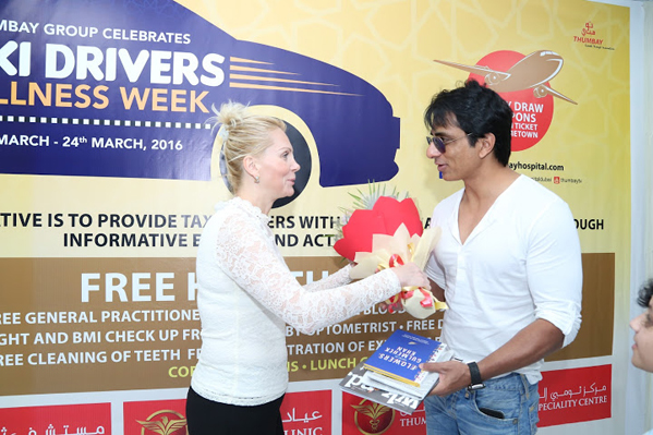 Sonu Sood Launches 'Taxi Drivers Wellness Week'