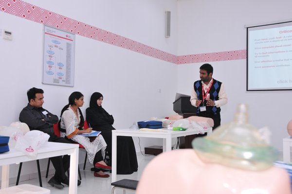 C.A.S.H offered an American Heart Association Accredited Basic Life Support course on 20th January 2014 for healthcare providers. BLS for Healthcare Providers is offered in C.A.S.H every week on Wednesdays.