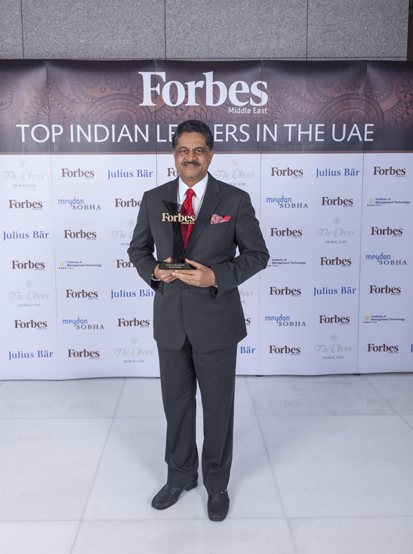 Forbes Middle East Announces and Honors Top 100 Indian Leaders in the UAE