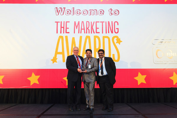Body & Soul Health Club & Spa bags the prestigious Marketing Award, 2013.ards-Body&Soul (2)