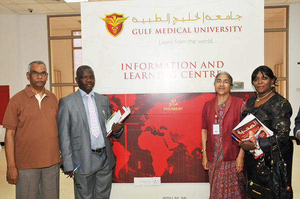 GMU visited by Pharmacists Council of Nigeria.