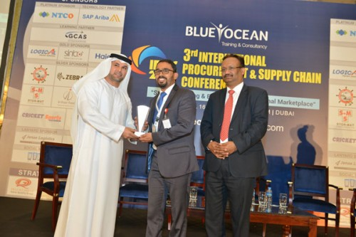 Procurement Best Practice Appreciation Award