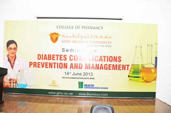 College of Pharmacy at GMU hosts Seminar on Diabetes Complication - Prevention and Management plications by College of Pharmacy (1)