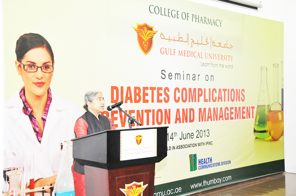 College of Pharmacy at GMU hosts Seminar on Diabetes Complication - Prevention and Management lications by College of Pharmacy (2)