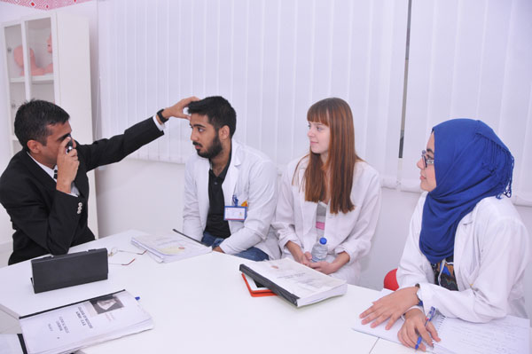 Simulated Eye Clinic- clinical skills session