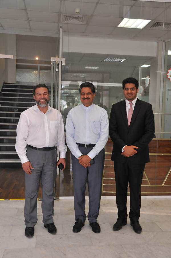 MR. SYED MOHAMED BEARY, CMD, BEARYS GROUP VISITS GULF MEDICAL UNIVERSITY