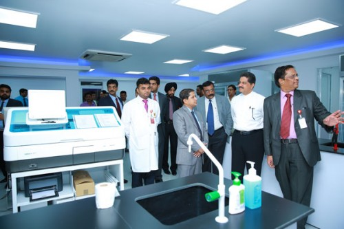 First Lab Open at Hyderabad