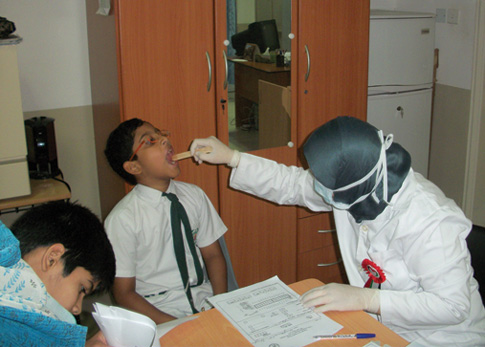 Free Dental Checkup and Awareness Camp organized by GMC