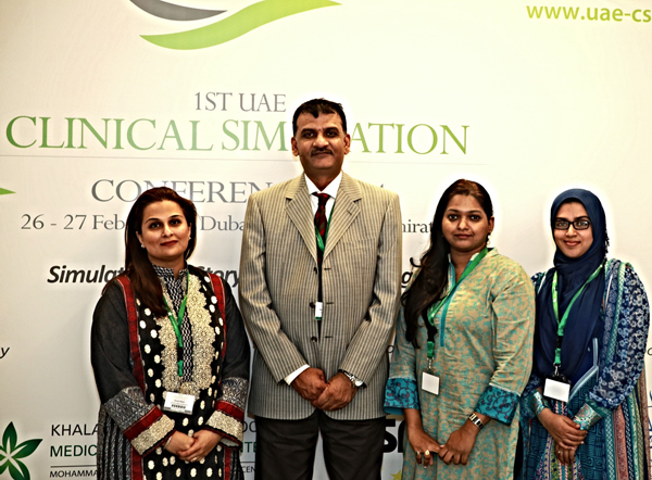 BEST POSTER PRESENTATION AWARDED TO CASH AT THE 1ST UAE CLINICAL SIMULATION CONFERENCE 2014