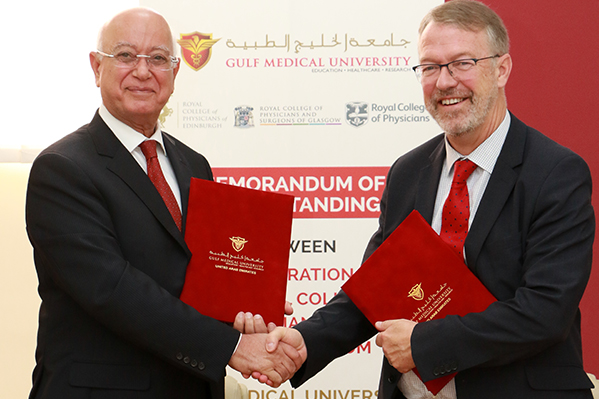 Gulf Medical University Signs MoU with the Federation of the